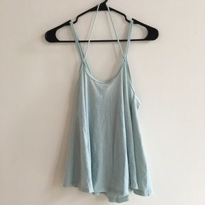 Summer strappy tank